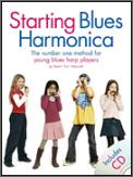 Starting Blues Harmonica (Bk/Cd)