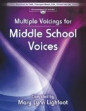 Multiple Voicings For Middle School Voic