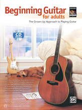 Beginning Guitar For Adults (Bk/Cd)