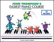 Easiest Piano Course Part 3 (Bk/Cd)