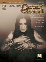 Very Best of Ozzy Osbourne, The (Bk/Cd)
