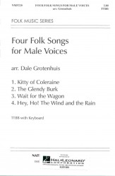 Four Folk Songs For Male Voices