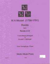 ロンド・ニ長調(モーツァルト)(テナーサックス+ピアノ)【Rondo From Rondo In D】
