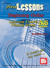 First Lessons Beginning Guitar (Bk/Dvd)