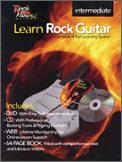 Learn Rock Guitar Intermed (Bk/CD/Dvd)