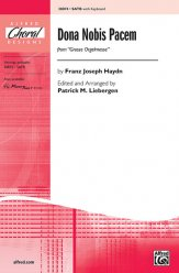 Dona Nobis Pacem (from Grosse Orgelmesse)SATB
