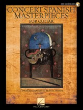 Concert Spanish Masterpieces (Bk/Cd)