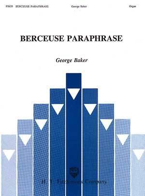 BERCEUSE PARAPHRASE