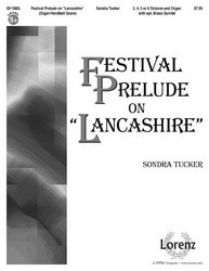 "Festival Prelude on ""Lancashire"" - Organ/HB Score"