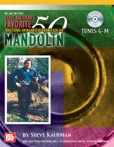 Favorite 50 Mandolin Tunes G-M (Bk/Cd)