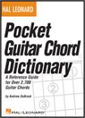 Pocket Guitar Chord Dictionary