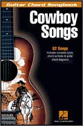 Cowboy Songs (Guitar Chord Songbook)