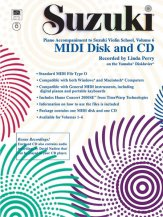 Suzuki Violin 6 Midi CD Rom