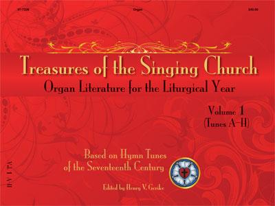 TREASURES OF THE SINGING CHURCH VOL 1