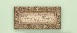 Wall Plaque: Amazing Grace