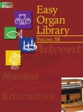 EASY ORGAN LIBRARY VOL 58