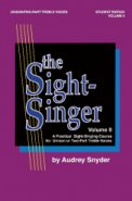 The Sight Singer Vol 2 (Uni/2Pt)