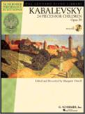 24 Pieces For Children Op 39 (Bk/Cd)