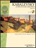 24 Pieces For Children Op 39 (Bk/Cd)
