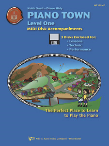 Piano Town Level One (Midi)