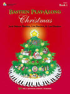 Bastien Play-Along Christmas Bk 1(Bk/CD