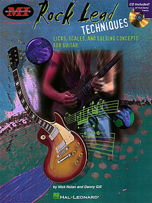 Rock Lead Techniques (Bk/Cd)