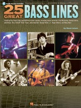 25 Great Bass Lines (Bk/Cd)
