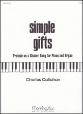 Simple Gifts Prelude On A Shaker Song