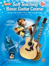 Self-Teaching Basic Guitar Course CD/Dvd