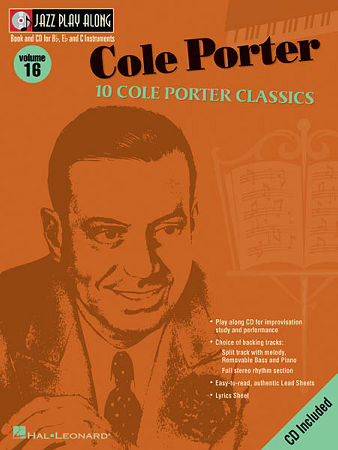 Jazz Play Along V016 Cole Porter