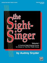 The Sight Singer Vol 1 (Uni/2Pt)