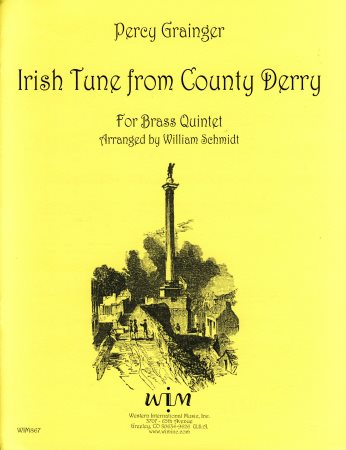 Irish Tune From County Derry Sheet Music by Percy Grainger ...