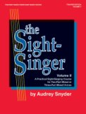 The Sight Singer Vol 2 (2Pt/3Pt)