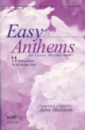 Easy Anthems For Classic Worship Vol 1