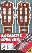 Acoustic Guitar Chord & Scale Decks