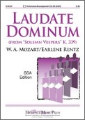 Laudate Dominum (Solemn Vespers K 339)