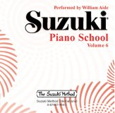 Suzuki Piano School 6 CD Aide