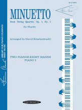 Minuetto From String Quartet Op 1 1