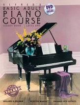 Basic Adult Piano Course Lesson Lv 1/Dvd