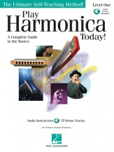 Play Harmonica Today Lev 1 (Bk/Cd)