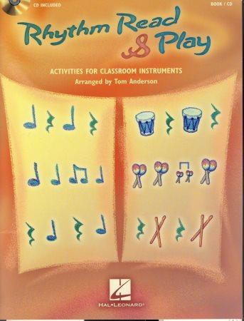 RHYTHM READ AND PLAY (BK/CD)