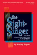 Sight Singer, The Vol 2 (2pt/3pt)
