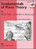Fundamentals of Piano Theory Prep Answe