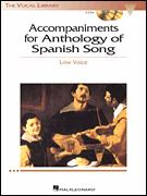 ANTHOLOGY OF SPANISH SONG (LOW)
