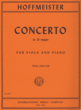 Concerto In D Major For Viola and Piano