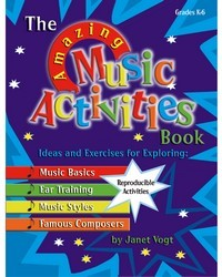AMAZING MUSIC ACTIVITIES BOOK, THE