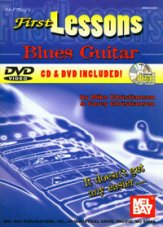 First Lessons Blues Guitar (Bk/CD/Dvd)