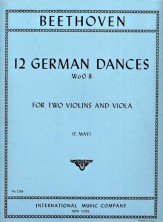 12 German Dances (2 Vn/Va)