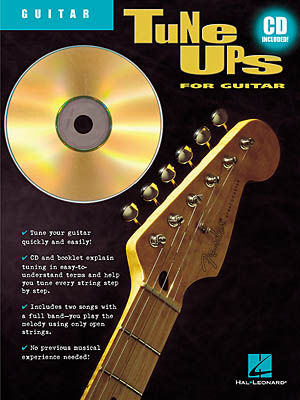 Tune Ups For Guitar W/CD
