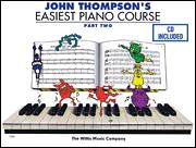 Easiest Piano Course Part 2 (Bk/Cd)